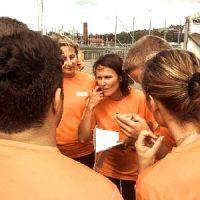 kodjakt, teambuilding, samarbete
