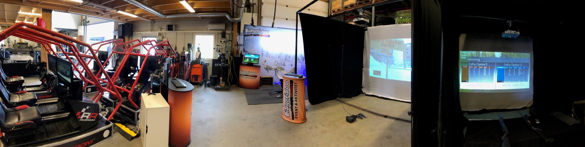 Mobilt game room