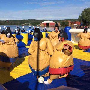 Sumofotboll vid festival och event