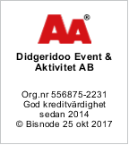 Didgeridoo är dubbel AA