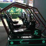 Race room simulatorer i Monsters monter vid Dreamhack Elmia