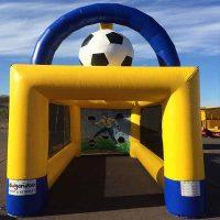 Prickskytte fotboll uppblåsbar