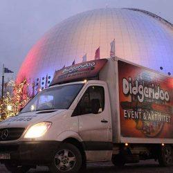Didgeridoo event och aktivitet levererar aktiviteter vid Globen