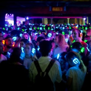 Silent disco hörlursdansfest