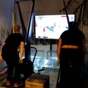 skidåkning simulator